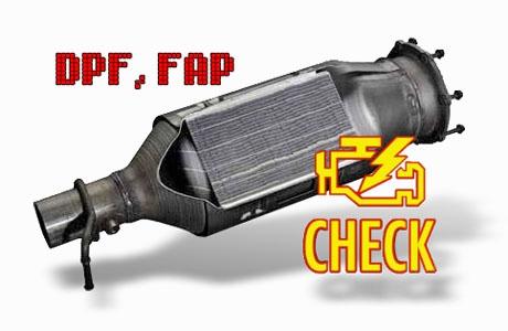 FAP DPF programinis šalinimas